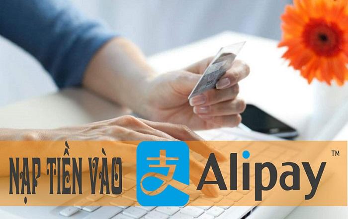 Làm sao để nạp tiền Alipay?