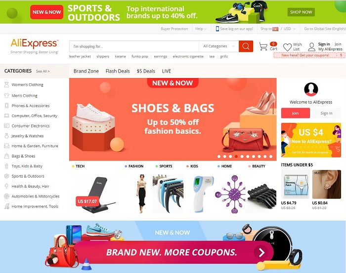 Cần lưu ý những gì khi mua sắm trênAliexpress