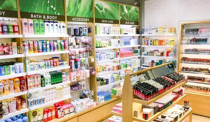 Cửa hàng mỹ phẩm là một lựa chọn mạo hiểm hơn