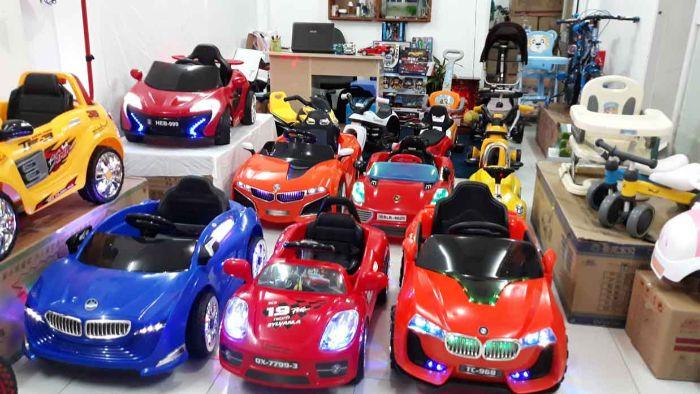 Các mặt hàng đồ chơi trẻ em Trung Quốc khá phổ biến